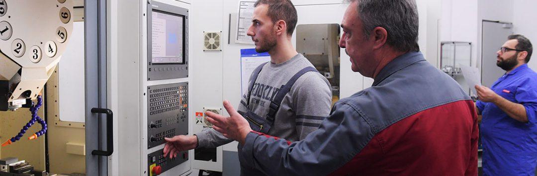 Qualifizierung Produktionsfachkraft CNC (m/w/d)
